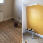 Yellow room progress