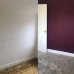 Purple room progress